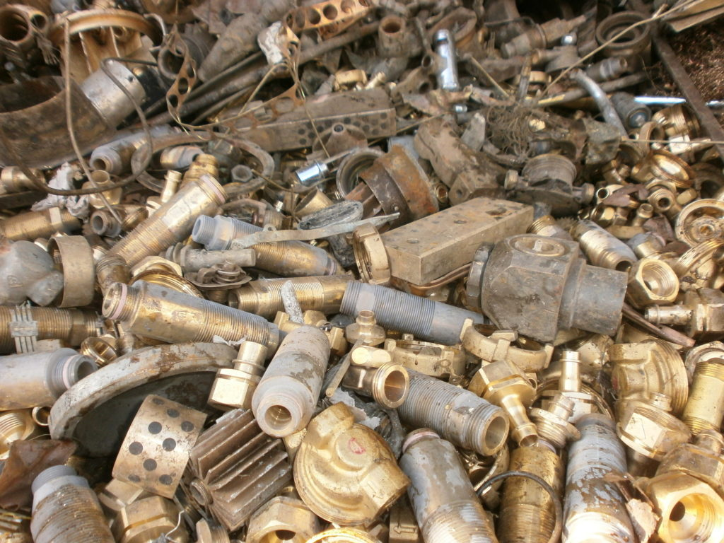 Process of Brass Scrap Metal Recycling